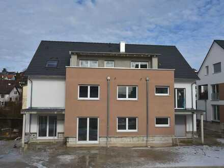 +++ NEUBAU - Gut geschnittene 2 Zimmerwohnung mit Fußbodenheizung, Loggia und TG-Stellplatz +++