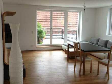 Dachterrasse 3 Zimmer Zentrum Erding ruhig