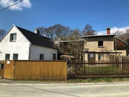 Wohnhaus oder Ferienhaus Nähe Talsperre Pirk