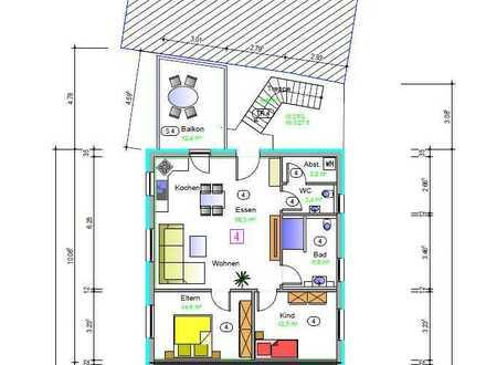 Neubau, drei Zimmer Wohnung in Enzkreis, Straubenhardt, Provisionsfrei