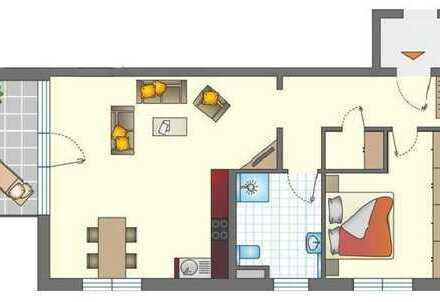 Großzügige 2,5- oder 3-Zimmer Wohnung mit schönem Balkon