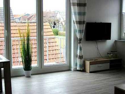 Neuwertige Wohnung mit Balkon !