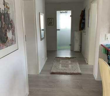 renovierte 3-Zimmer-Wohnung mit Balkon in Maulburg