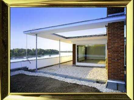 Exklusive Penthouse-Wohnung am Rhein