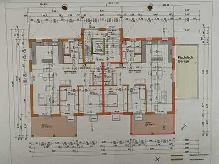 Neuwertige 3-Zimmer-Erdgeschosswohnung mit Balkon und Einbauküche in Weilheim an der Teck
