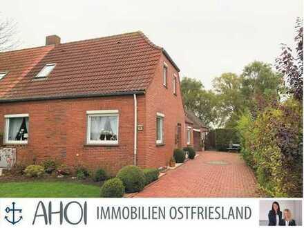 Gepflegte Doppelhaushälfte mit Traumgarten in Uttum