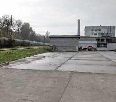 Betonierte Freilagerfläche in Wernau zu vermieten