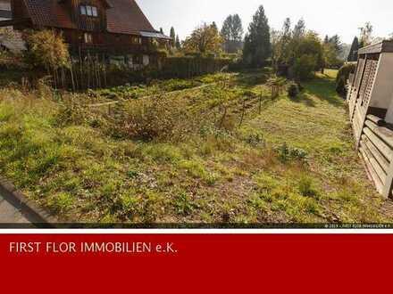 PROVISIONSFREI ! Schließen Sie die Baulücke - viel Platz für Eigenheim oder Anlage auf 1248 m² !