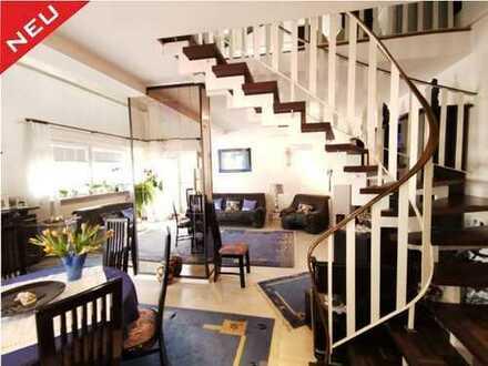 Gemütlich, modern, hochwertig ausgestattet: 5 Zimmer Penthouse mit prächtiger Dachterrasse!!
