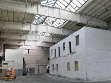 1.104m² Halle mit innenliegendem Bürogebäude und Erweiterungspotenzial in Niederschönhausen