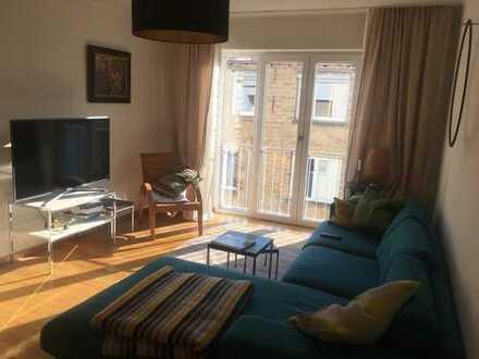 Exklusive 2-Zimmer-Wohnung mit Balkon und Einbauküche in Stuttgart