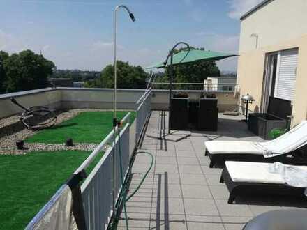 Wohnen am Berg - 4-Zimmer-Penthouse-Wohnung mit Terrasse