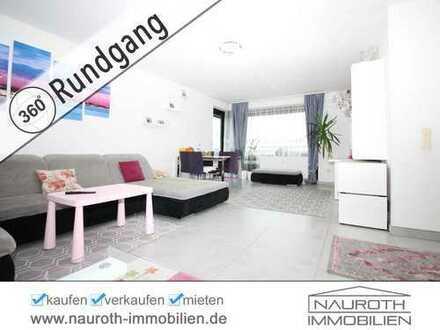 NAUROTH IMMOBILIEN: Tolle 3-Zimmerwohnung mit Sonnenbalkon und TG-Stellplatz
