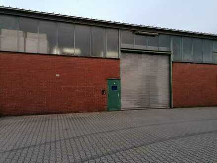 Untermieter für Lagerhallenfläche (550 m²) in Frankfurt/Fechenheim gesucht