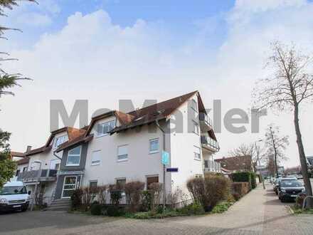 Modern, gehoben, urban: 5-Zi.-Maisonette mit 2 Balkonen & Top-Anbindung in Neuhermsheim