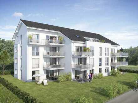 4 Zimmer-Wohnung mit Balkon im DG