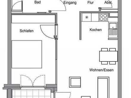 2-Zimmer Wohnung Neubau inkl Stellplatz