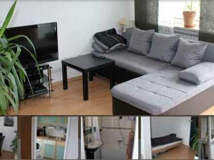 Erschwingliche, geräumige und gepflegte 1-Raum-DG-Wohnung mit EBK und Balkon in Ingolstadt