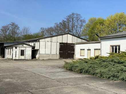 Hallen-/Produktions-/Lagerflächen mit guter AB-Anbindung nahe Döbeln