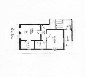 Schöne zwei Zimmer Erdgeschosswohnung in Graben südlich von Augsburg