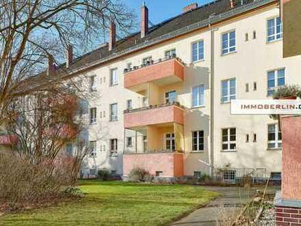 IMMOBERLIN: Bezaubernde Wohnung mit Südwestbalkon