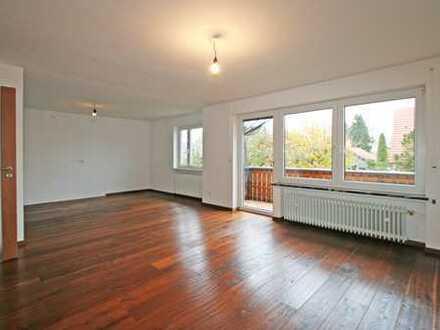 Helle 4-Zimmer-Wohnung mit Südbalkon im 2-Familienhaus in ruhiger Lage von Hurlach