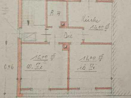 Schöne, gepflegte 2-Zimmer-Dachgeschosswohnung zur Miete in Karlsruhe Hagsfeld