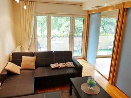 Für Einzelperson hochwertig möblierte Wohnung in Aschaffenburg‐Stadtmitte.