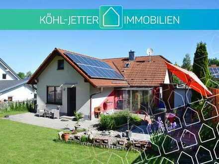 Renoviertes Einfamilienhaus mit schönem Grundstück in attraktiver Wohnlage von Trochtelfingen!