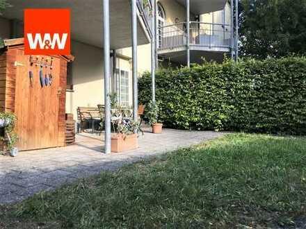 Gepflegte 2-Zi-Garten-Whg. in historischem Ambiente des Palmschen Park