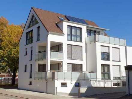 Traumhafte 4-Zi.-Etagenwohnung mit 2 Tiefgaragenstellplätzen in Balingen