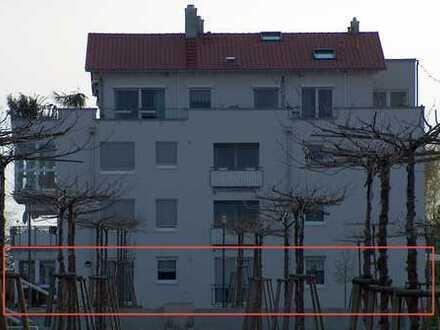 Großzügige 4 1/2 Zimmerwohnung mit Südterrasse und Gartenanteil