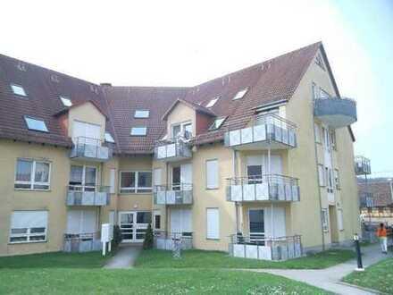 Günstige 1 Raumwohnung im EG eines Mehrfamilienhauses