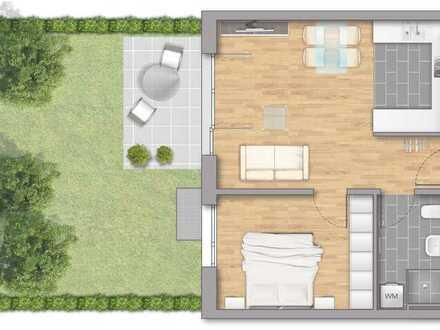 Gemütliche 2-Zimmer Wohnung mit Garten!