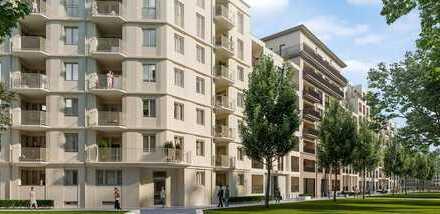 Außergewöhnlich geschnittenes Apartment