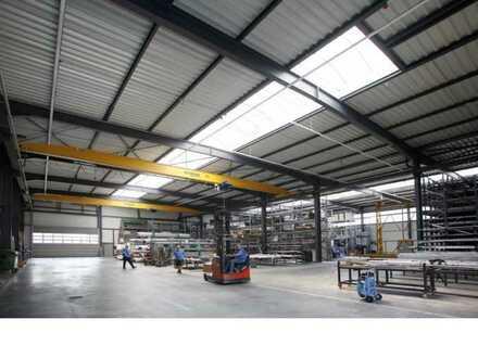 """""""BAUMÜLLER & CO."""" Lager und Produktionsfläche ca. 5.000 m² - Direkt an der A5 -"""