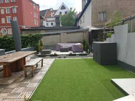 Modernisierte 3-Zimmer-Wohnung mit Terrasse und EBK in Augsburg
