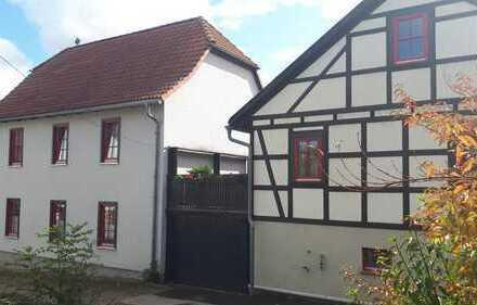 Charmantes Anwesen mit ZWEI Einfamilienhäusern südlich von Erfurt – sofort beziehbar!