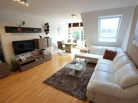 **bald frei - Top Lage Zentrum Lauingen** helle und ruhige 3-Zimmer-Wohnung mit Ausbaureserve im DG