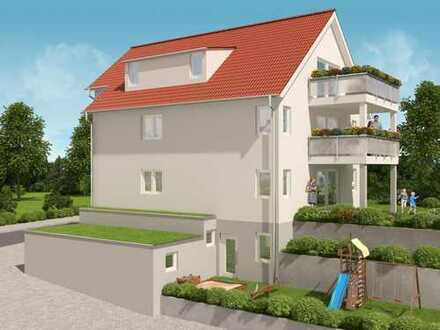 Neubau: 4,5-Zimmer-Wohnung mit Balkon in kleiner Wohneinheit zu verkaufen!