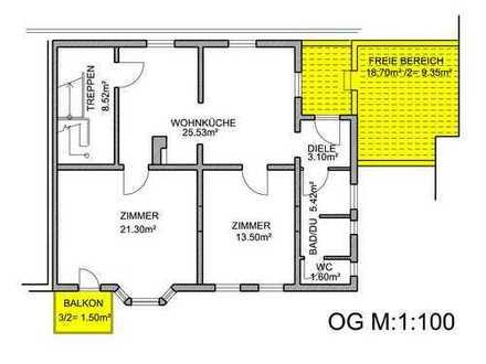 Neu renovierte, helle 3,5 -Zimmer-Wohnung in ruhiger Lage in Ludwigsburg