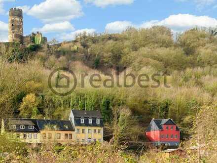 Gepflegtes EFH mit neu geschaffenem Garten und traumhaftem Blick auf den Rhein