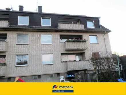 Mülheim-Styrum - gepflegte 3-Zimmer-DG-Wohnung mit Balkon!