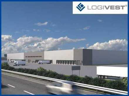 Lagerfläche im Logistikpark nahe der A42 verfügbar!