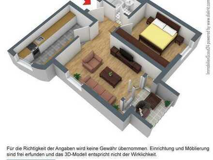 Schöne 2-Raumwohnung