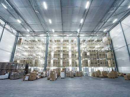 """BAUMÜLLER & CO."" - Nähe A5 / A67 - ca. 15.000 m² Logistikfläche - NEUBAU-Standard - Rampe/ebenerdig"