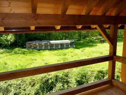 Einzigartiges Holzhaus in schöner Lage zu verkaufen