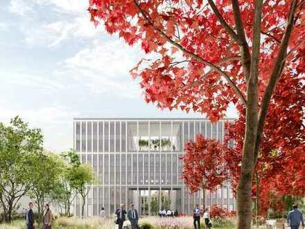 Neubauprojekt rob17.EINS || Atriumhaus || Komplette Etage verfügbar || 1.048 m² teilbar ab 450 m²