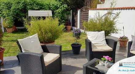 Familien-Paradies!  Maisonette-Wohnung mit großem Garten und Stellplatz.