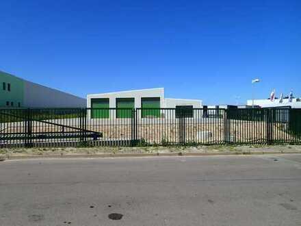 Halle für Logistik, LKW Werkstatt, Büro, Lager & Produktion